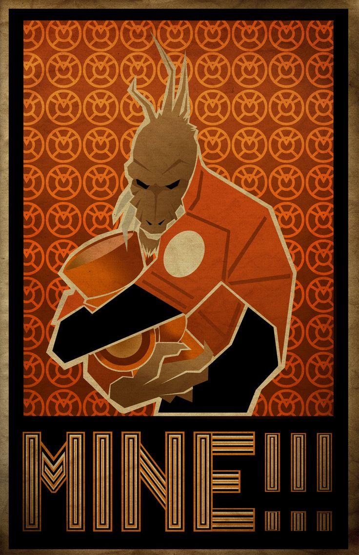 Larfleeze (Agent Orange) by Matthew Waite (~waitedesigns) on deviantART