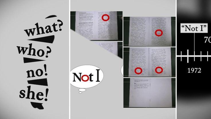 ' Not I ' plays something ' Quad ' /  わたしじゃないはクワッドなことをする  Samuel Beckett's 'Not I' is walking while drawing a pentagon like 'Quad' . サミュエル・ベケット『Not I』のテクストは五角形を描きながら『Quad』のように歩行している。   0:00…