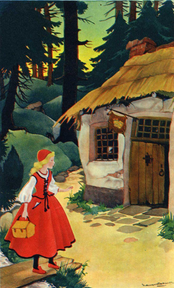 De molenaarsdochter? Russisch sprookje in  Groot Margriet Sprookjesboek (1958) ill. Nans van Leeuwen - van Bierenbosch |