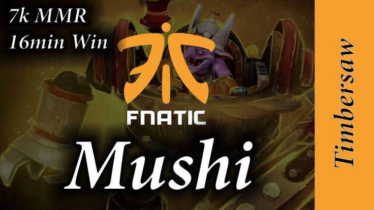 Fnatic Mushi Timbersaw MID 16min 7k MMR