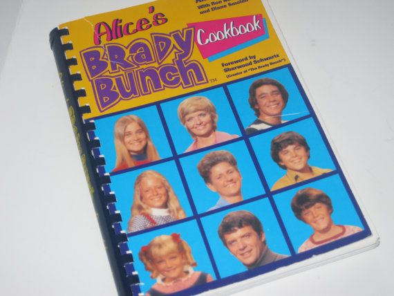Alice's Brady Bunch Cookbook 1994 by slockwoo on Etsy, $9.00