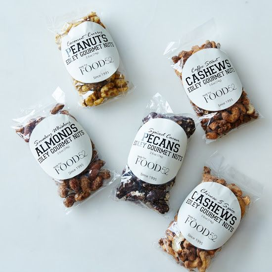 All-Natural Spiced Nuts (6 Flavors) - Edley Nuts, Sugar Plum Chocolates