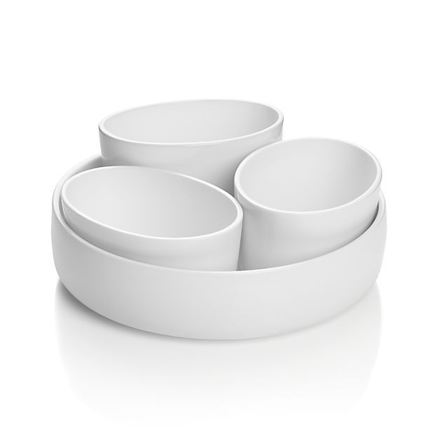 4-Piece Form Server in Specialty Serveware   Crate and Barrel