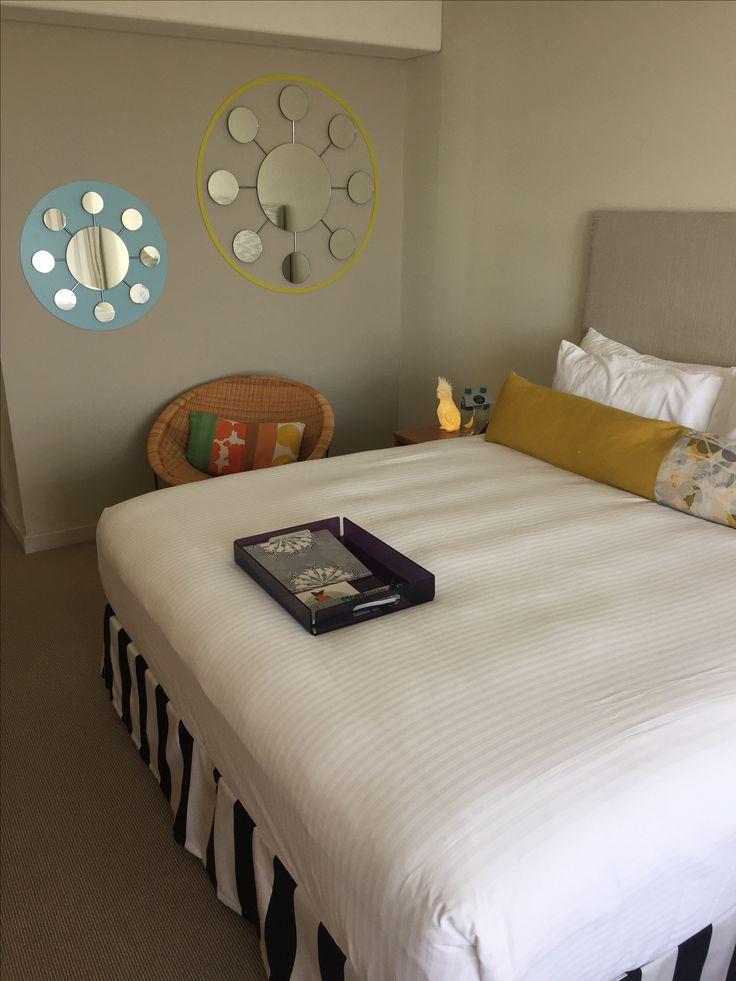 QT Hotel Gold Coast Big luxurious beds