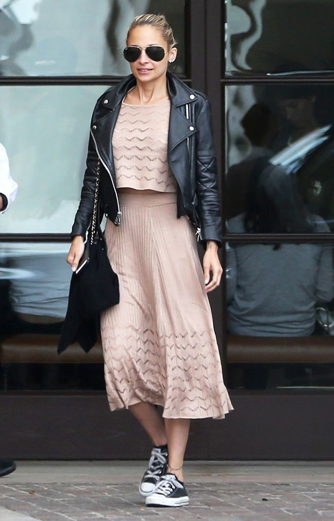 Celebrities of all heights have completely embraced this flattering dress style as of late. Check it out here.