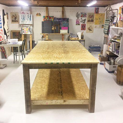 Criando um estúdio de arte – Transformação do estúdio de arte do porão – A Hackshaw   – Home