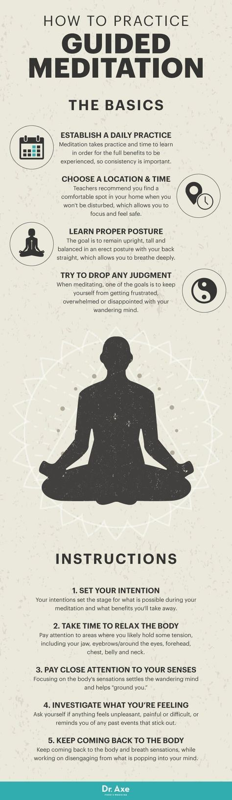 The 5-Step Approach to Effective Guided Meditation - Dr. Axe