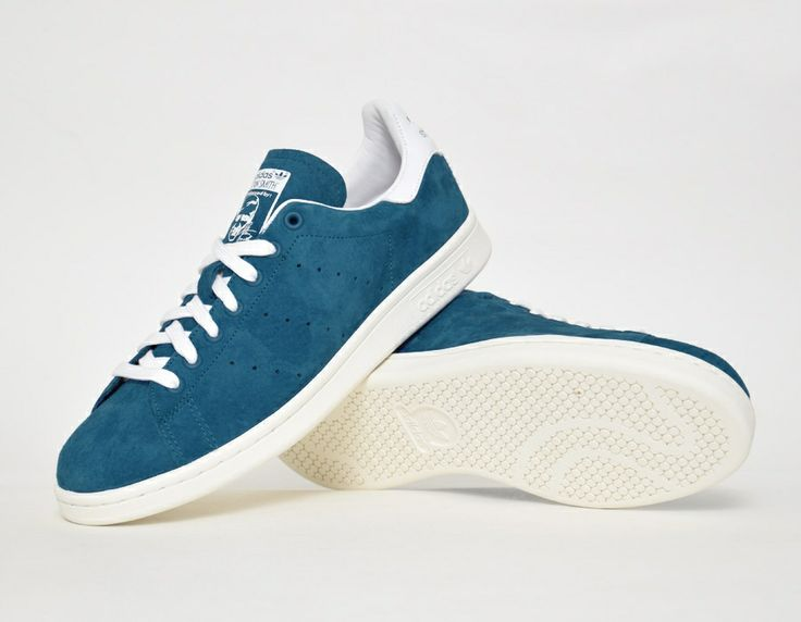 #adidas Stan Smith Suede Blue #sneakers