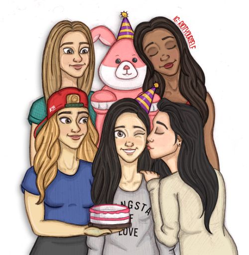 The best Fifth Harmony fan art on the internet - Sugarscape.com
