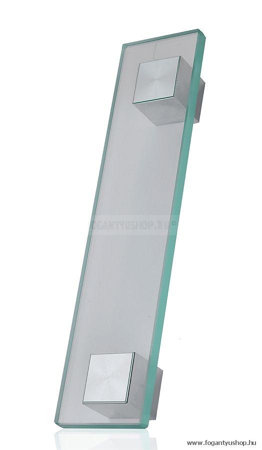 Furnipart - Block Glass Handle-407060160 - króm - fogantyú
