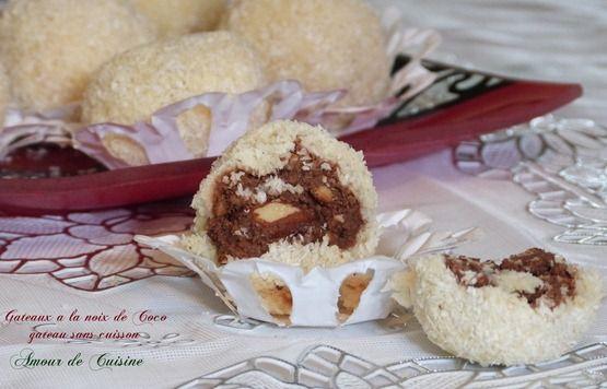 gateau algerien a la noix de coco - Amour de cuisine