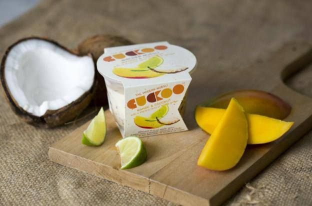 Mango & Coconut with a tropical twist of Lime & Ginger