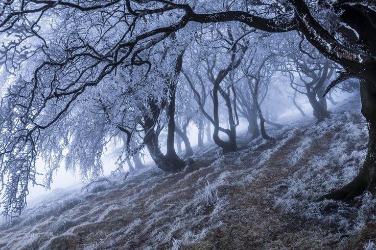 Национальный парк Пик-Дистрикт в Пеннинских горах в Великобритании.