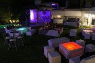 Renta de Mobiliario en Monterrey, Bodas, XV Años, Fiestas, Mesas Iluminadas para Eventos