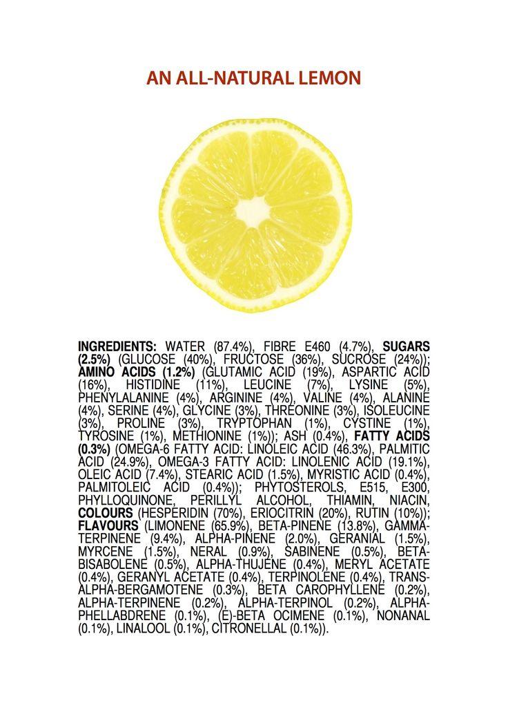 ingredients of a Lemon ENGLISH jameskennedymonash.wordpress.com chemistry infographic