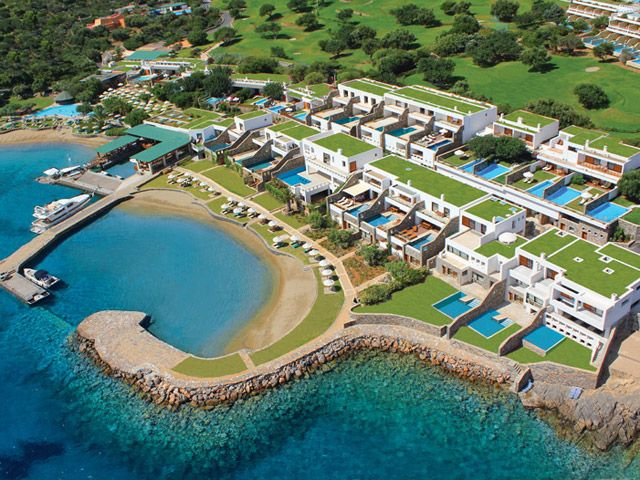 Elounda Peninsula Diamond Residences 5 Stars luxury hotel villa in Elounda Offers Reviews