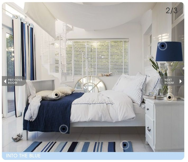 I wonder if he 39 ll let me have a nautical room blue and for Sailor themed bedroom