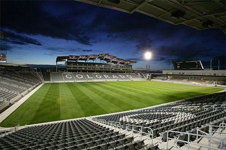 Dicks Sporting Goods Stadium -- home of the Colorado Rapids.