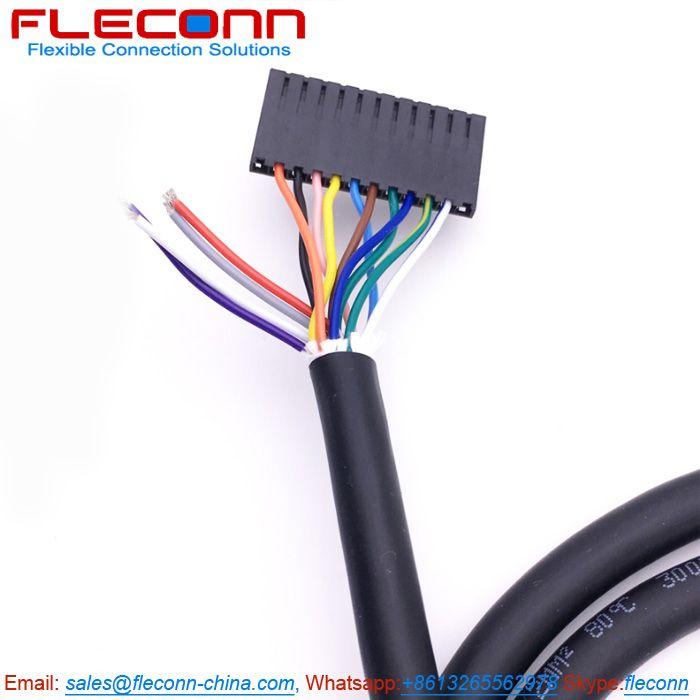 Molex 70066 Series Sl 2 3 4 5 6 7 8 9 10 11 12 Pin Connector Wire Harness Connector Wire Harness