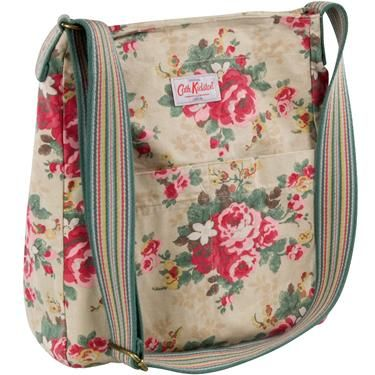 Cath Kidston messenger bag @Eden Holmes, ooh look Eden, your bag is famous ;D
