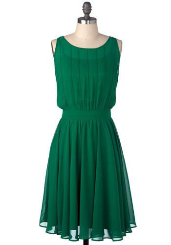 Love the style of this dress, don't hate the color either.  Very pretty, Grecian style with jewel tone.