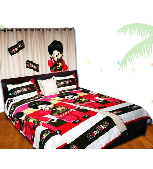 Let your little one sleep peacefully on sheets that inspire exciting dreams. Get kids bed sheets for your child's room and witness the joy it brings. Pepperfry offers wide range of kid's bed sheets online in India.