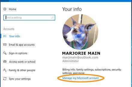 Greetings User. You Can Change Your Name. If you would like Windows 10 to greet you differently when you log on edit your account settings. Technology Computers and the Internet Windows (Operating System)