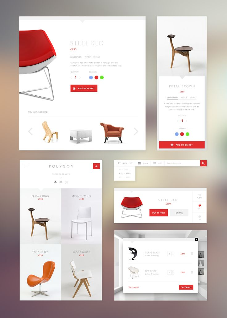 Ecommerce Widgets by Vincent Tran