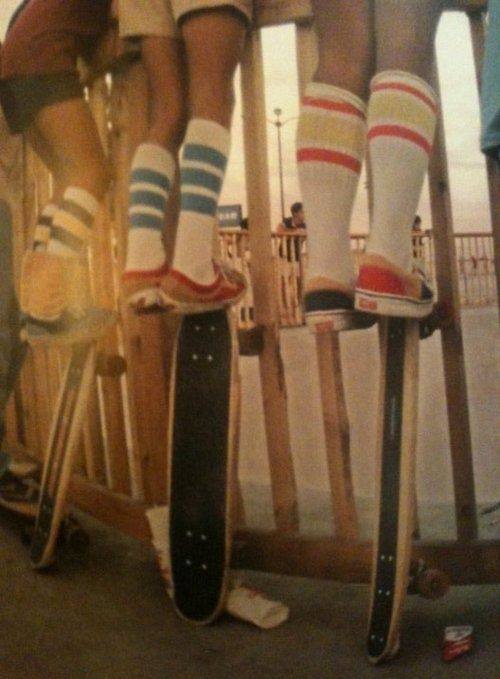 Socks - Photography unknown (via novaleemag)