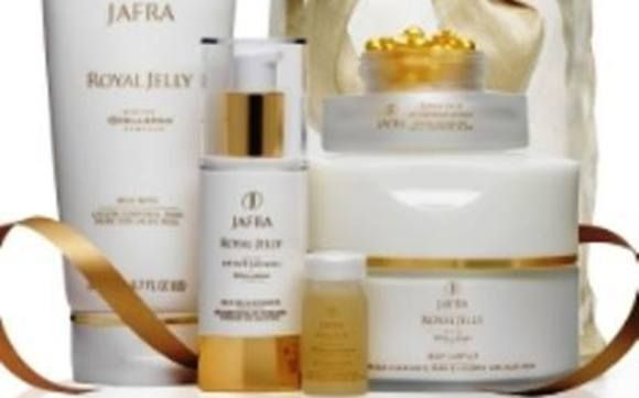 "Starting Today through 10/31 - Indulge yourself in ultimate luxury  with Jafra's ""Royal Jelly Collection"""