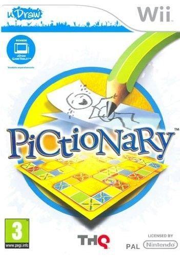 pictionary  udraw    WII NUOVO!!!