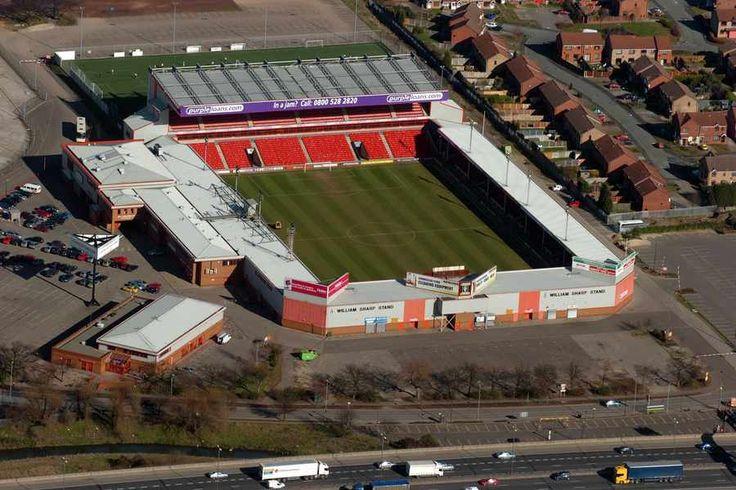 Banks's Stadium - Aerial - Walsall FC