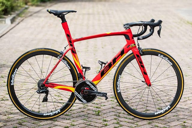 TOP 5 BICICLETAS DE CARRETERA: BH G7 PRO, la bici del Direct Energi en el Tour`17...