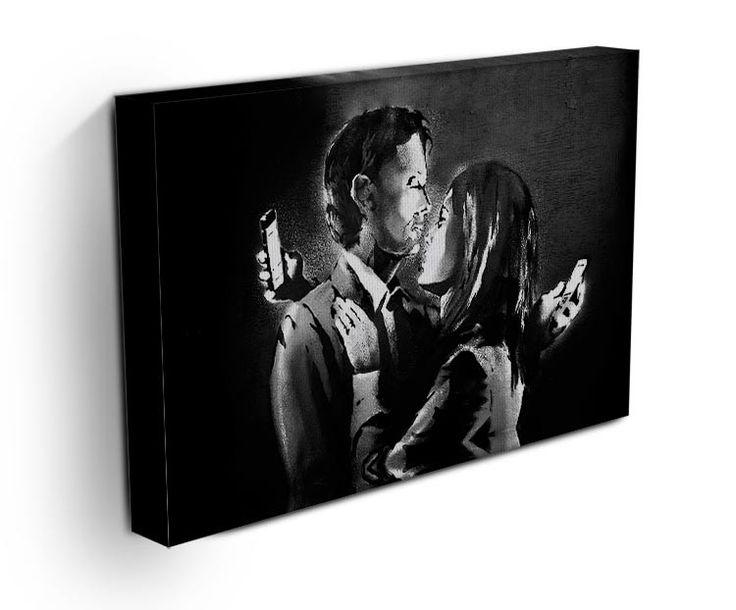 banksy mobile lovers print theyu0027ll love wall art 1