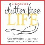 31 Days to a Clutter Free Life: Kids Paperwork (Day 19)