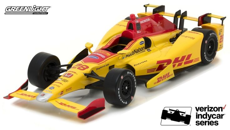Ryan Hunter-Reay 2017 DHL Indy Car 1:64 Greenlight Collectibles -