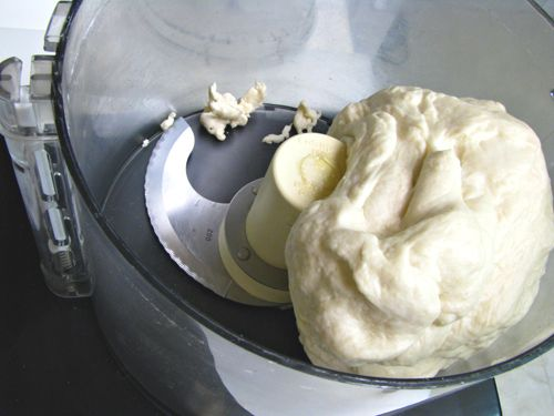 Make pizza dough in your food processor! Who knew? Apparently many people...but not me...according to my internet research after reading the pizza article in this week's NYTimes.