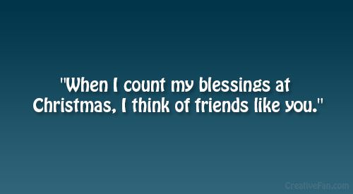 Count My Blessings