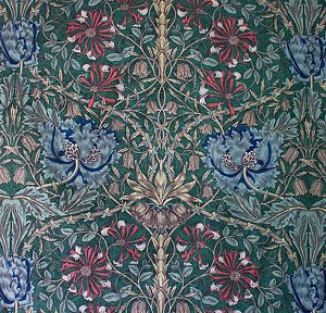 vintage-Liberty-Honeysuckle-William-Morris-floral-print-cotton-interiors-fabric. Got some : cushion coming up.