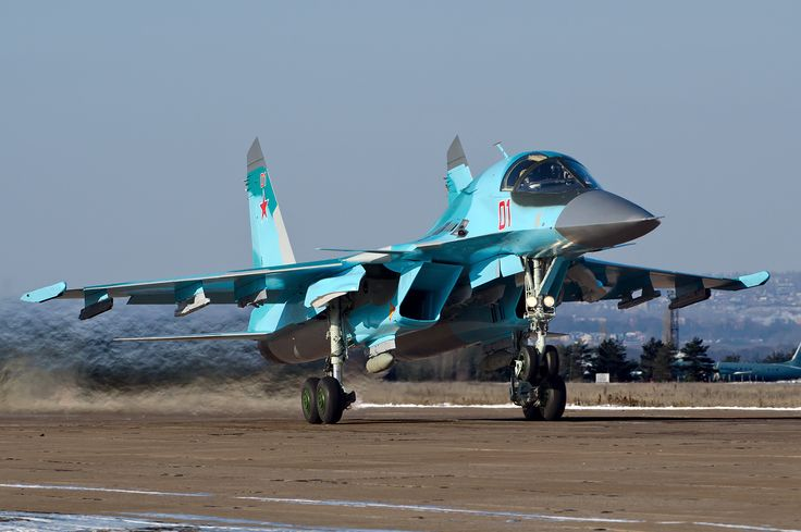 Russian Air Force Sukhoi Su-34 Beltyukov-1 - Sukhoi Su-34 - Wikipedia, the free encyclopedia