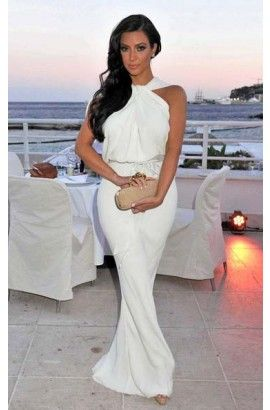1000 ideas about kim kardashian white dress on pinterest. Black Bedroom Furniture Sets. Home Design Ideas