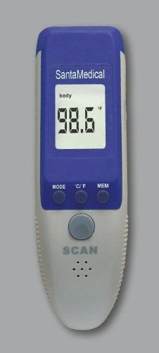 Santamedical 2 in 1 Professional Clinical RY230 Large LCD Non-contact Infrared thermometer http://earthermometerreviewz.com/santamedical-2-in-1-professional-clinical-ry230-large-lcd-non-contact-infrared-thermometer-forehead-and-surface-review/