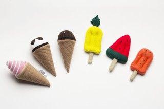 Kit Heladitos Edición Tropical de juguete x 6 - comprar online