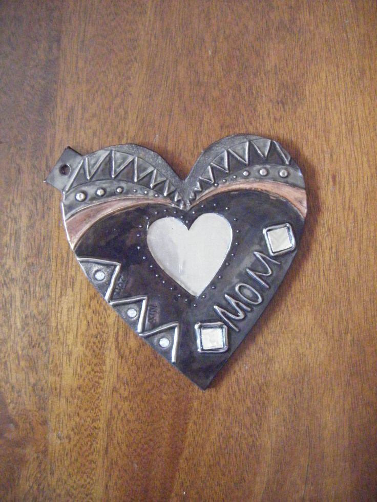Pewter Heart by Nicole Roxburgh