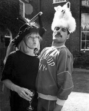 Freddie Mercury and Mary Austin; His one true love