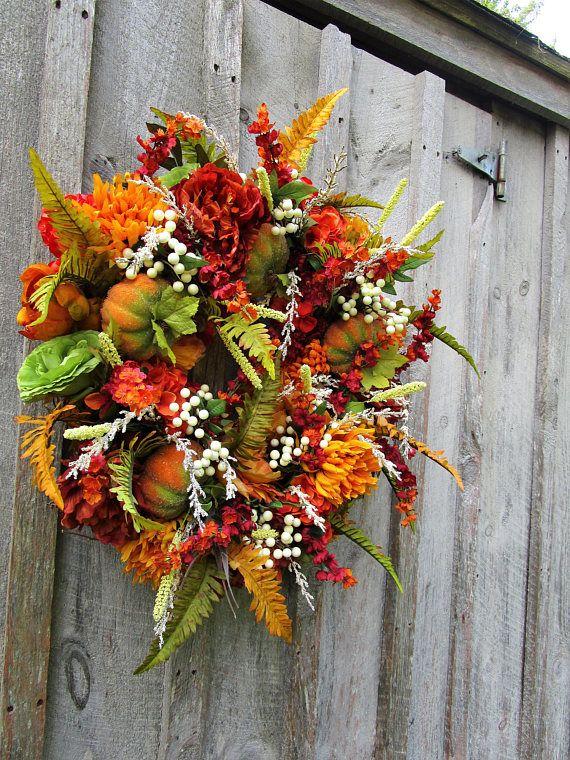 Best 25 Elegant Fall Wreaths Ideas On Pinterest Fall
