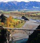 Jet boating in Hanmer Springs, New Zealand