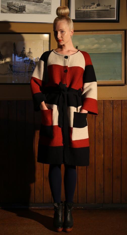 Ivana Helsinki AW13 collection: R coat 2 #ivanahelsinki #fashionflashfinland #fashion #fashiondesigner #designer #aw13 #collection #Finland #Helsinki