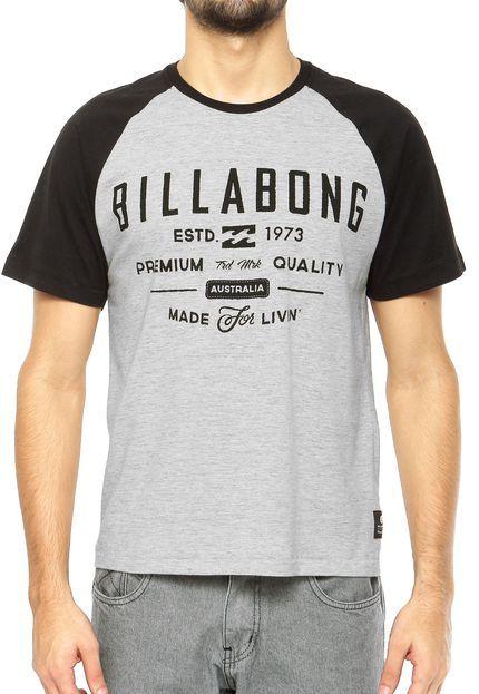 Camiseta Billabong Cinza - Compre Agora | Dafiti Brasil