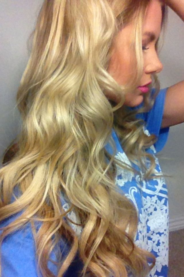 Loose Curl Tutorial, love it! just bought the nume curling ...  Loose Curl Tuto...